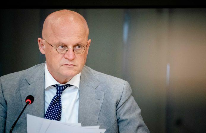 Demissionair minister Ferdinand Grapperhaus (Justitie en Veiligheid).