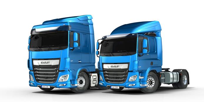 De verkoop van de vernieuwde DAF's droeg bij aan de recordomzet van Paccar.