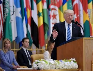 """Trump roept op tot coalitie tegen extremisme: """"Ban terroristen uit jullie land"""""""