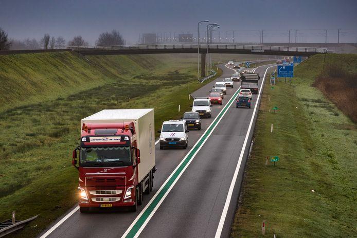 Uitstel van de aanpak van de N50 bij Kampen ligt erg gevoelig. Op deze weg zijn de afgelopen jaren meerdere dodelijke ongevallen geweest.