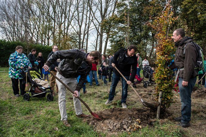 Na het Geboortebos komt er nu ook een Vlinderkring voor overleden kindjes in Borsbeek