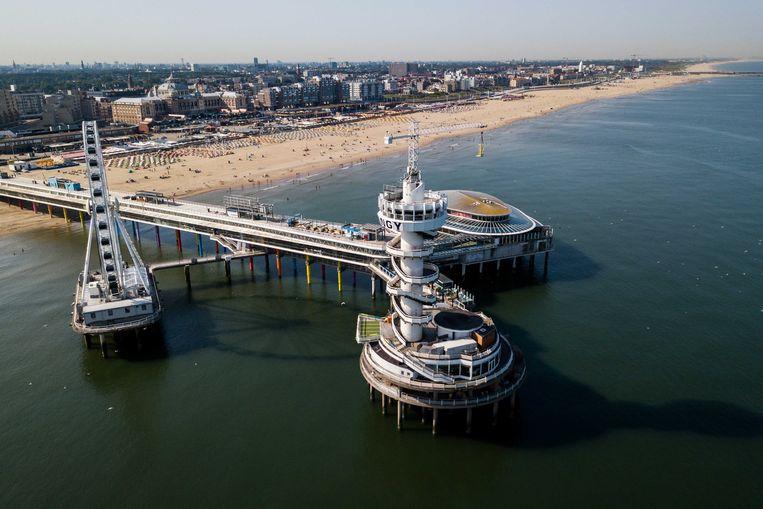 Op 10 augustus worden alle Olympische sporters op het strand van Scheveningen gehuldigd. Beeld ANP