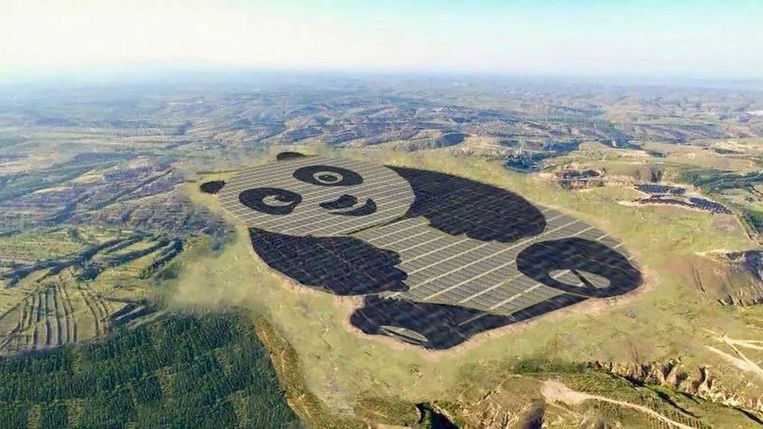 Zonnepark in China. Beeld Science