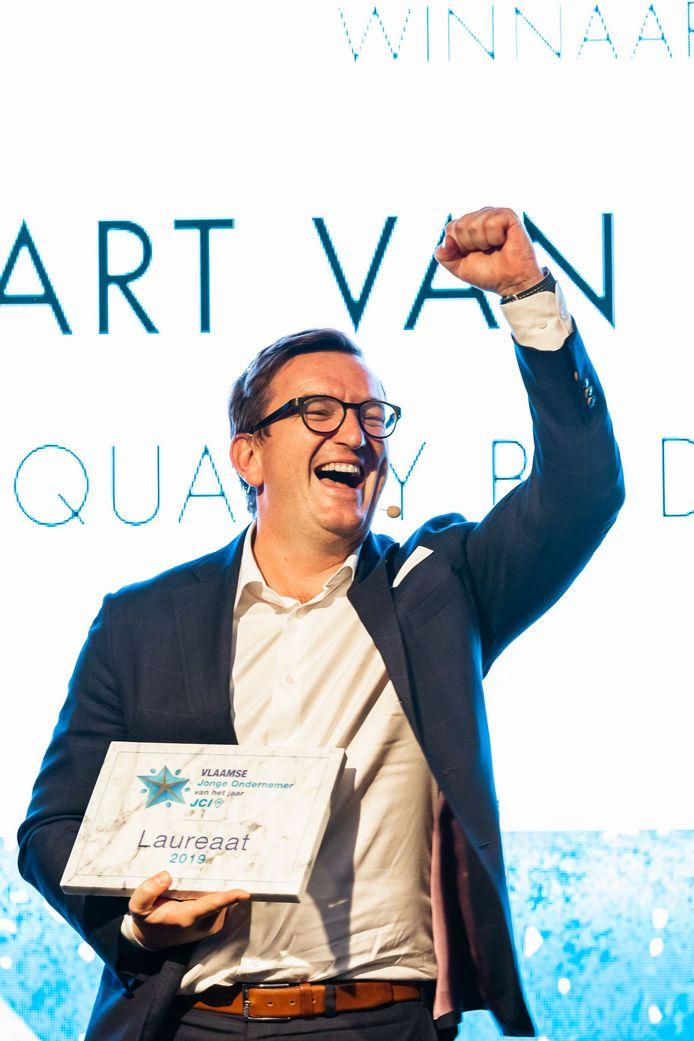Bart Van Acker is Vlaamse Jonge Ondernemer 2019
