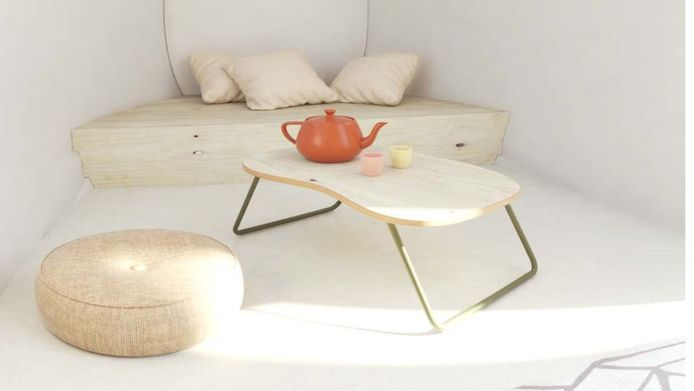 Ecocapsule-meubelen