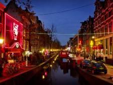 Achttien prostitutieramen in Amsterdam dicht