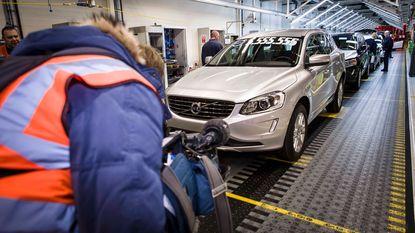 5.555.555ste auto rolt van de band bij Volvo Car Gent