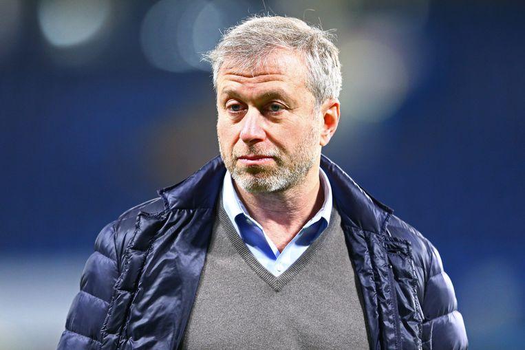 Chelsea-baas Roman Abramovich.
