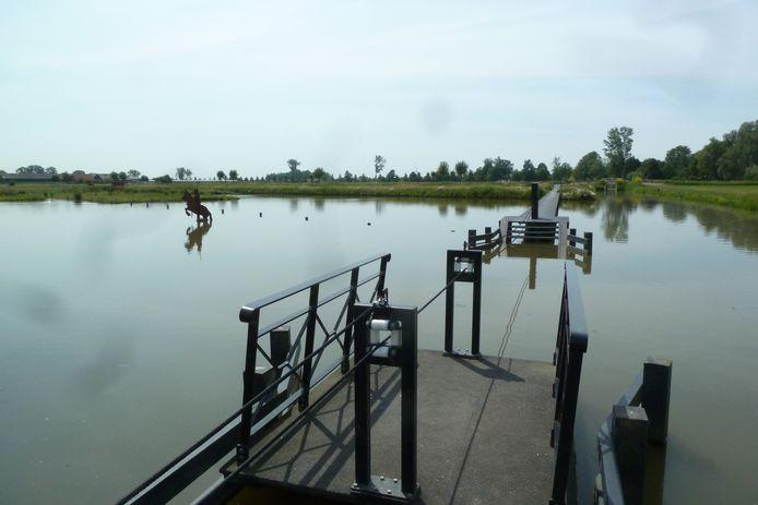 De inundatiepolder bij Blokhoven (Schalkwijk).