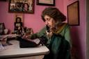 De 90-jarige Ida Haendel is een geliefd model van de Eindhovense fotograaf.