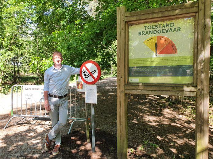 Kalmthouts burgemeester Lukas Jacobs nam het initiatief een rookverbod in te voeren in de Kalmthoutse Heide. Die regel is nu uitgebreid naar het volledige Grenspark Kalmthoutse Heide.