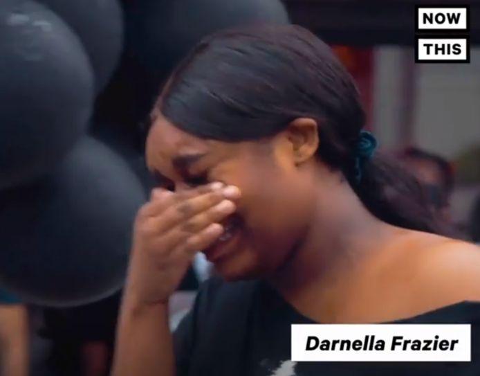 Darnella Frazier est revenue le lendemain des faits sur les lieux de l'interpellation