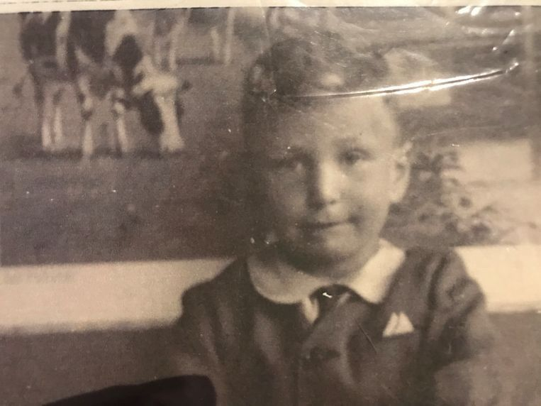 Harry Davids as a boy, date unknown. Beeld Private collection