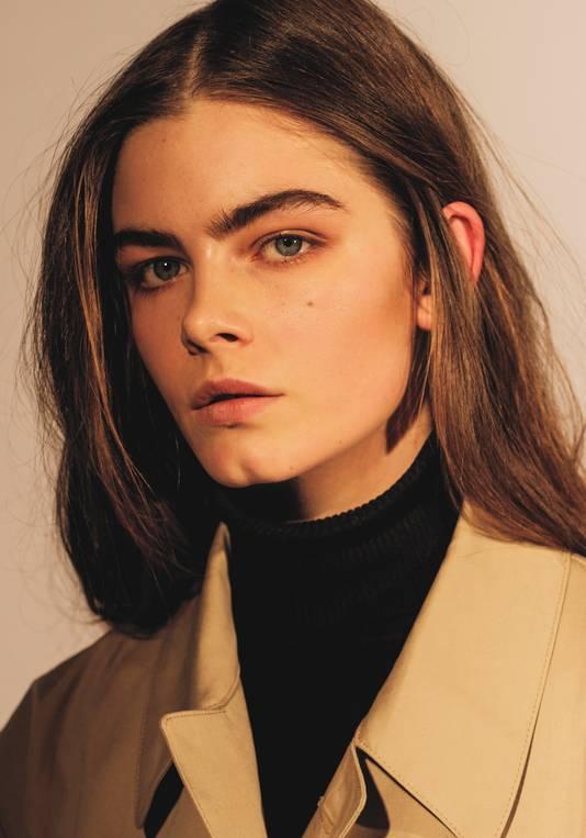 Merlijne Schorren model voor Ulla Models.  Foto Emil Pabon