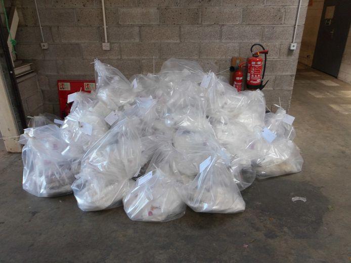 In de vrachtwagen van Jelle P. werd bij een controle aan de grens bijna 400 kilo drugs aangetroffen.