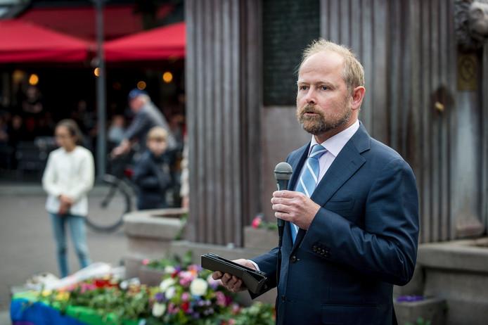 Wethouder Patrick Welman