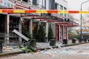 Ravage na de aanslag op de Poolse supermarkt in Heeswijk Dinther.