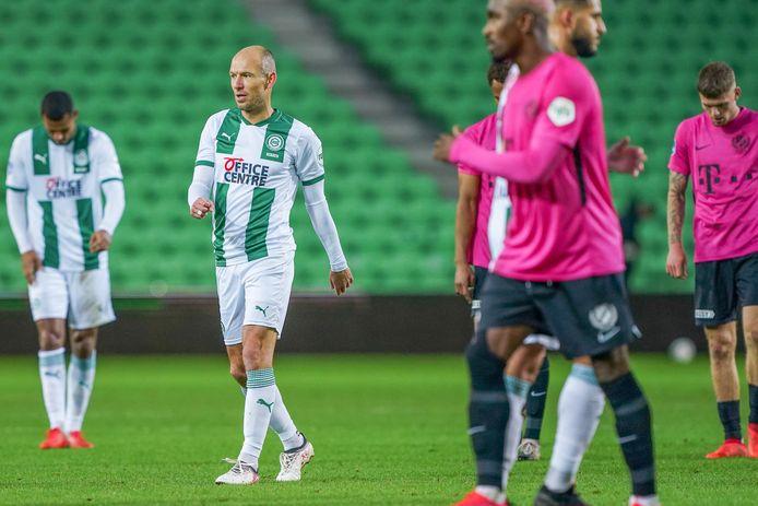 18-10-2020: Voetbal: FC Groningen v FC Utrecht: Groningen Arjen Robben of FC Groningen
