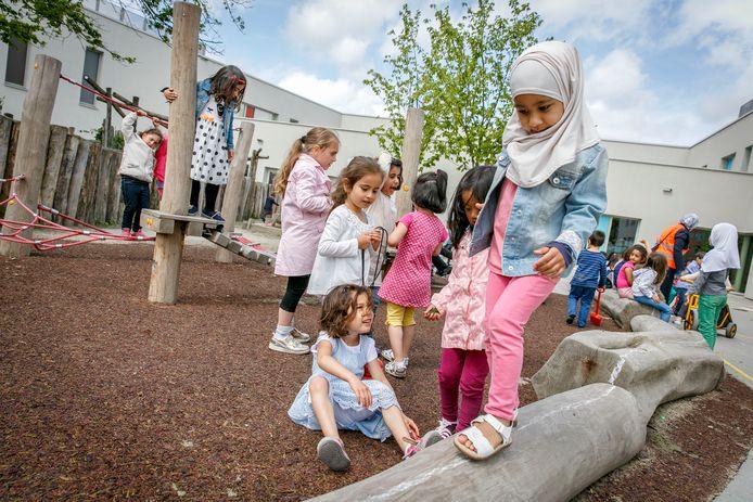 Op de Schiedamse basisschool Ababil zouden ook al meerdere Delftse kinderen zitten.