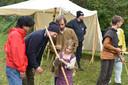 Kinderen konden ook zelf deelnemen aan workshops