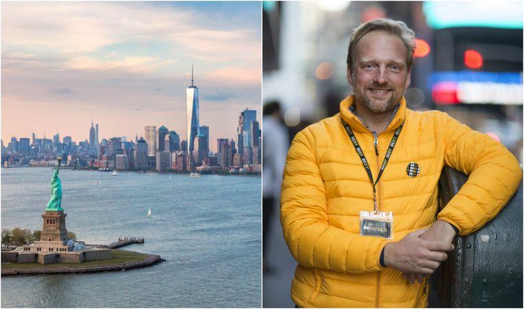 Patrick Van Rosendaal heeft een stadsgidsenbedrijf in New York.