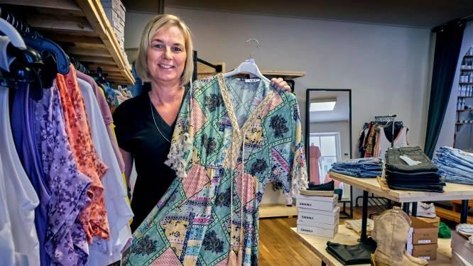 Miranda (50) opende middenin coronatijd een kledingzaak: 'Dertig kledingstukken passen is geen probleem'