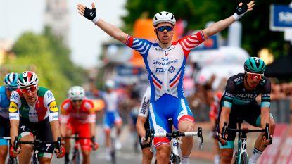 Ook Démare pikt ritje mee in Giro, Ackermann komt zwaar ten val in slotkilometer