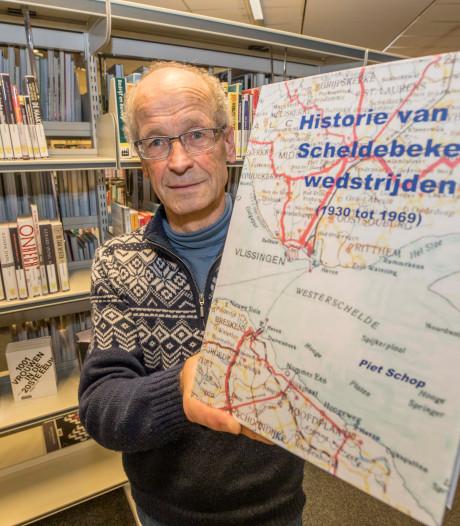 Piet Schop uit Goes rondt na 7 jaar zijn levenswerk over de Scheldebeker af