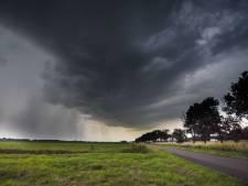 Code geel voor zuiden van Nederland: onweer  met hagel en windstoten