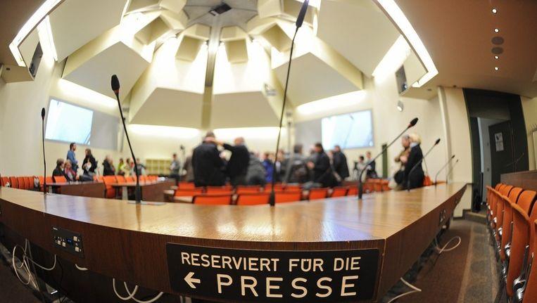 De rechtszaal waar het proces plaatsvindt. Beeld EPA