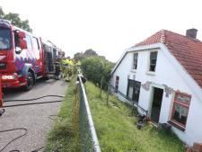 Woningbrand tijdens kluswerkzaamheden in Rossum