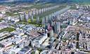 In de visie van architectWiny Maas verrijzen er honderd woontorens langs hetHaagse Bos.