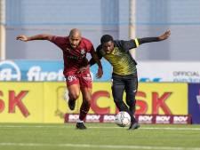 Tranen van profvoetballer Augustine Loof uit Koewacht zijn op Malta verwaterd in een lach
