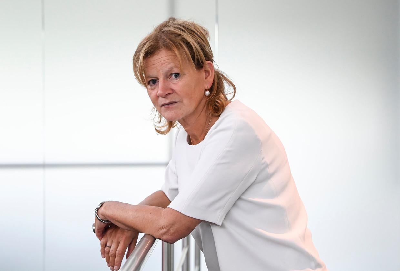 Ann Van de Steen (57), advocate van de weduwe van Jozef Chovanec. Beeld Photo News