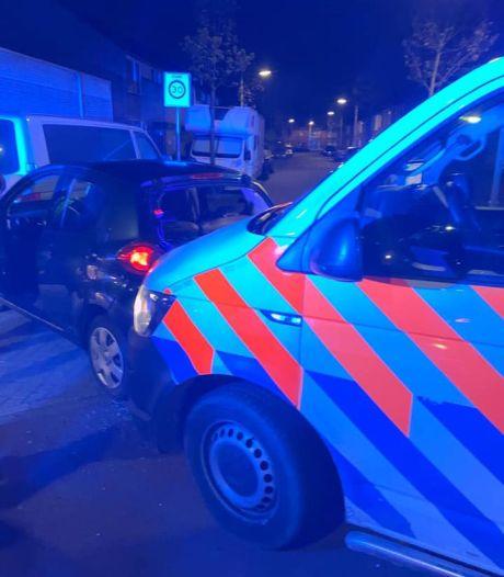 Politie achtervolgt joyriders van 14 en 15 door Bergen op Zoom, verdachte aangehouden