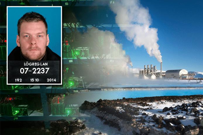 Computers die transacties met cryptomunten valideren vreten energie en in IJsland is stroom redelijk goedkoop. Inzet: Sindri Thor Stefansson