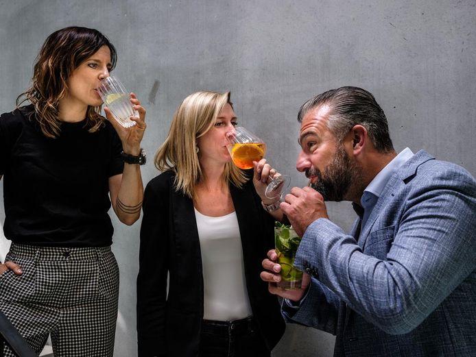 Sint-Lievens-Houtem: Julie, Sarah en Stijn genieten van een Gutss.