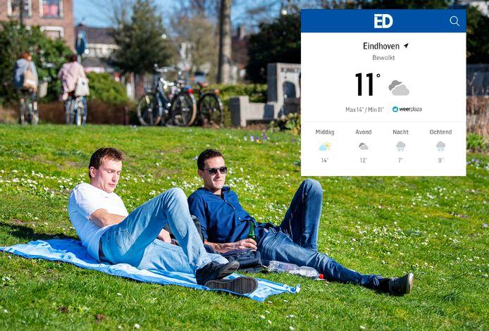 Kun je lekker naar buiten, of beter een dagje wachten? Je leest het voortaan gedetailleerd in de ED-app.