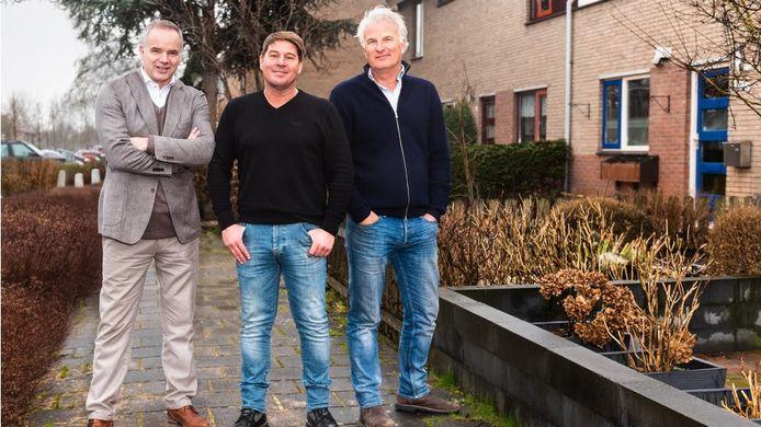 Alex van Keulen, Martijn Krabbé en Bob Sikkes.