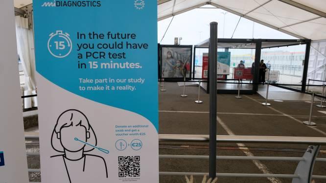 Brussels Airport start vandaag met ultrasnelle coronatests: resultaat na negen minuten al bekend