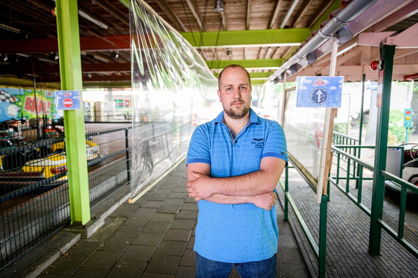 Directeur Kevin Moespot van attractiepark De Waarbeek introduceert een bliksemtarief.