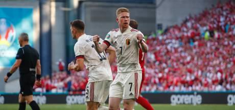België wint dankzij flitsende rentree De Bruyne op emotionele avond in Kopenhagen