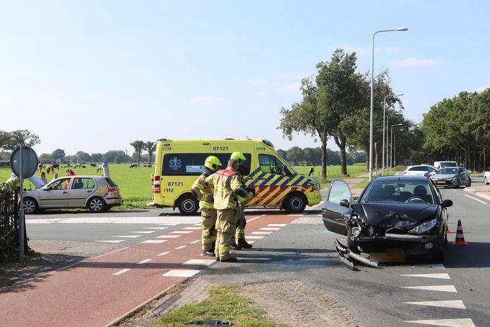 Het ongeluk gebeurde woensdagmiddag op de N224 in Ede