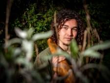 Zutphense student Floris gaat 'op yurt' in plaats van op kamers: 'Maar ik word echt geen kluizenaar in een tentje, hoor'