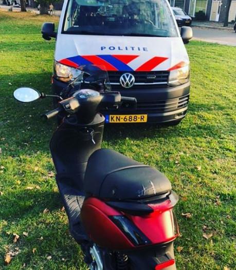 19-jarige op snorscooter ramt politiebus bij achtervolging door Hatert