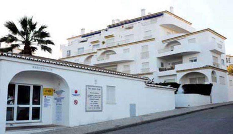 Het vakantieverblijf in Praia de Luz. Beeld