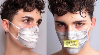 Italiaanse make-upartiest zendt krachtige boodschap over coronavirus