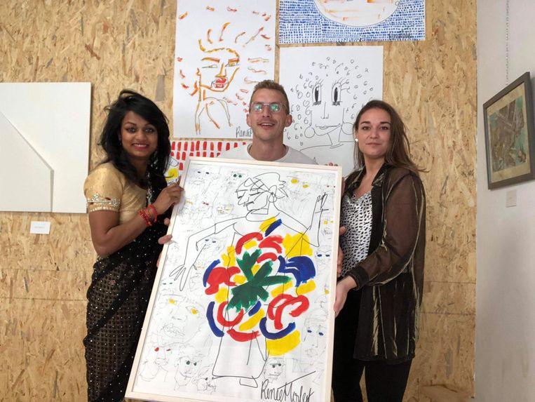 Diya Janssens, Stijn Labeur en Renée Herleef