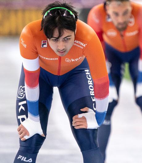 Voor het eerst sinds 2011 geen Nederlander op podium WK Sprint voor mannen