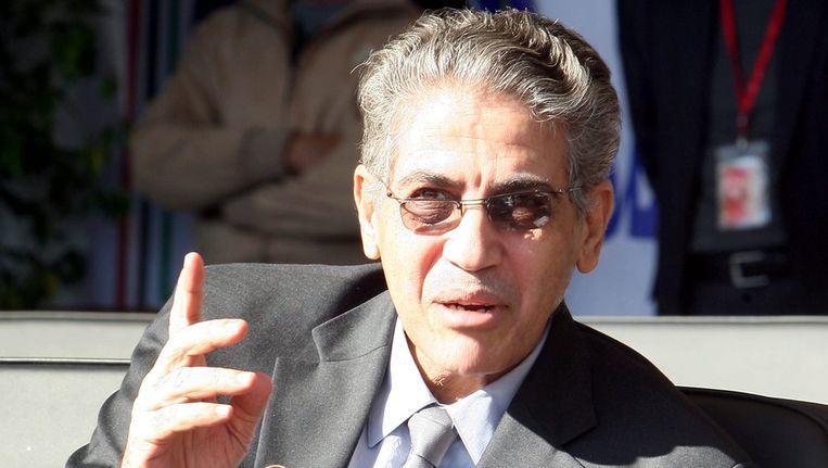 Ashoer Shuwail, de Libische minister van Binnenlandse Zaken. Beeld EPA